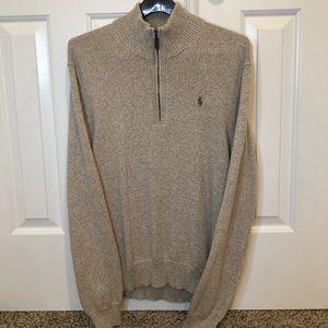Men's Medium Polo Ralph Lauren Sweater/QuarterZip